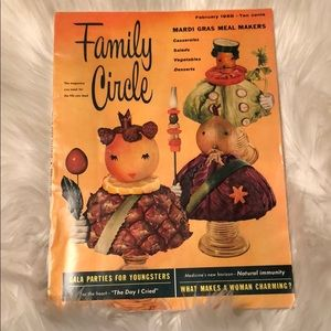 Other - Family Circle Vintage Magazine February 1958